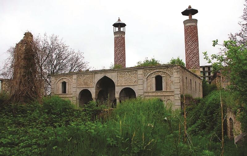 Şuşa rayonunun vandalizmə məruz qalmış abidələri